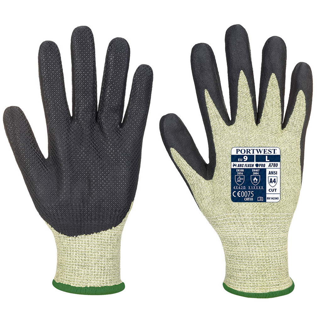 Portwest A780 Arc Rated CAT 2 Cut Resistant Arc Grip Glove (A780)| Harmony Lab and Safety Supplies