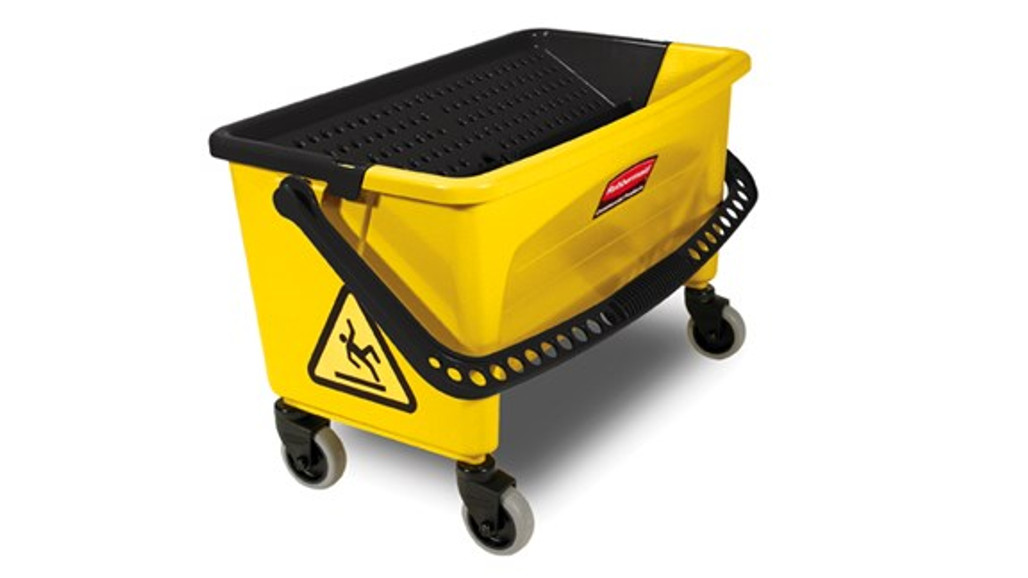 Rubbermaid Commercial Microfiber Press Wring Bucket (RCPQ90088YW)| Harmony Lab and Safety Supplies