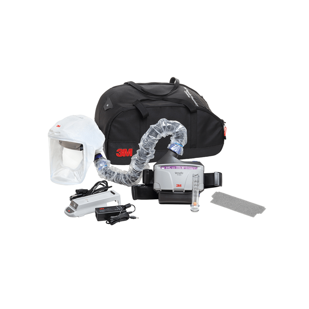 3M Versaflo TR-300N+ HKL Complete Healthcare PAPR Kit with Carrying Bag   Harmony Lab & Safety Supplies