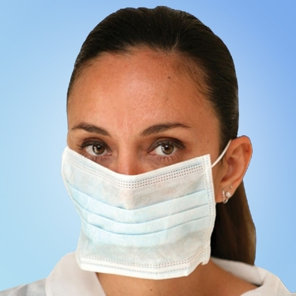 Get Liberty Glove Blue Ear Loop Face Masks at Harmony Lab & Safety Supplies.