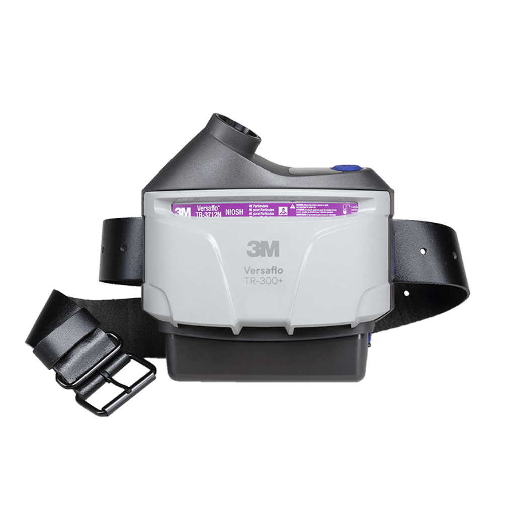 3M Versaflo TR-306N+ PAPR Assembly with High Durability Belt and High Capacity Battery   Harmony Lab & Safety Supplies