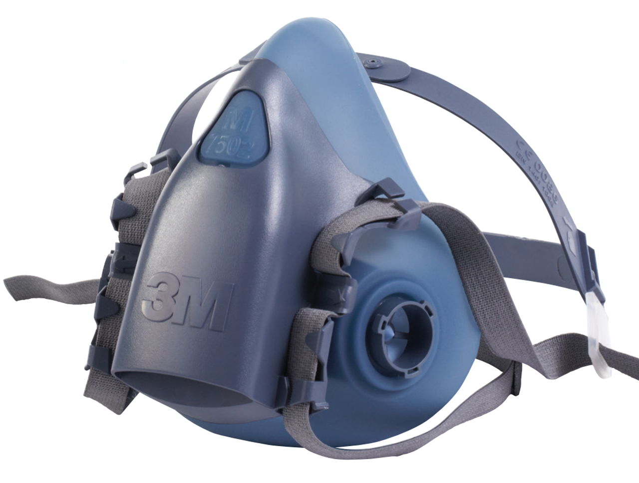 3m 7500 series half mask respirator small