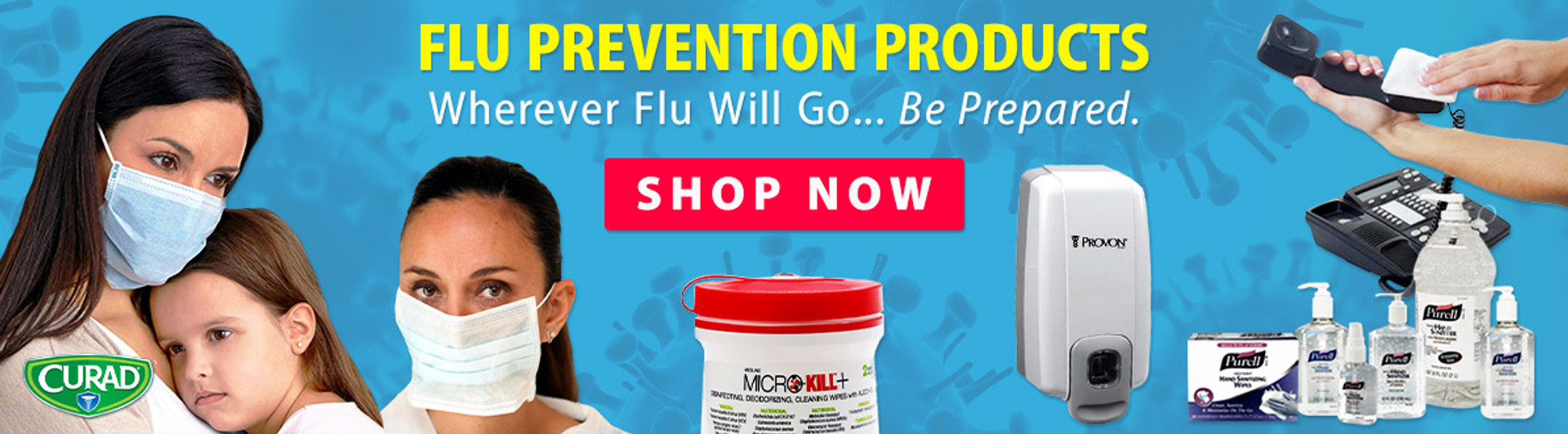flu prevention products