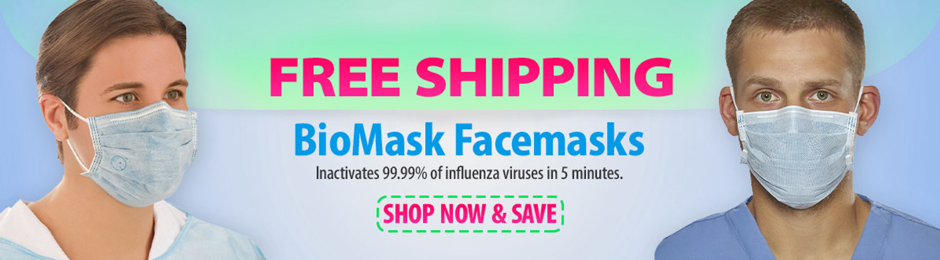 free shipping on biomask