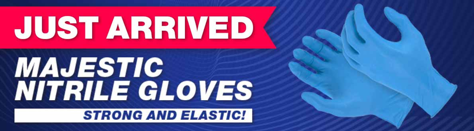 majestic disposable nitrile gloves