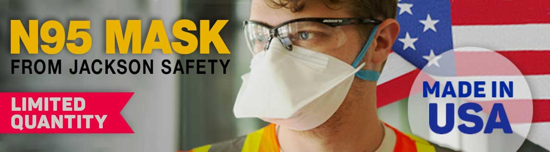 Jackson Safety 64235 N95 Respirator, 50/box