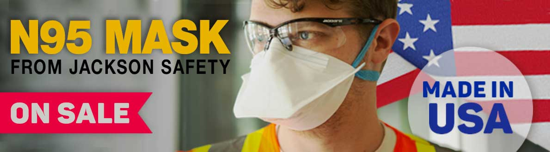 N95 Mask from Jackson Safety On Sale