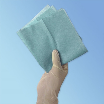 """CleanTex CT512 HydroSorb Blue Wipe, Poly/Cellulose, 12"""" x 12"""""""