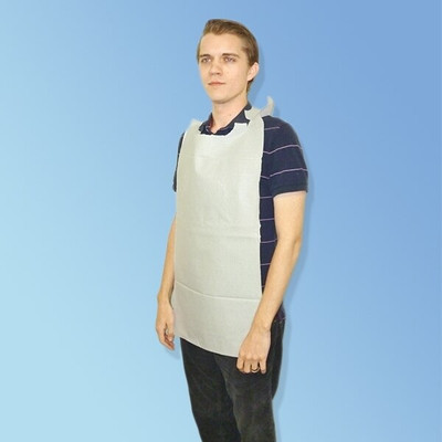 Medline NON24268OH Disposable Overhead Adult Bibs