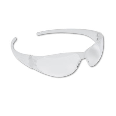 Checkmate Wraparound Safety Glasses, Clear Lens