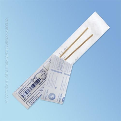 Puritan Double Sterile Polyester Swabs, Regular Tip, 6 in. Wood Shaft, 2000/case   Harmony Lab and Safety Supplies