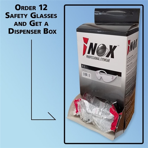 iNOX Guardian Safety Glasses with Dispenser Box