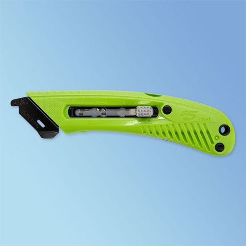 S5 Right-Handed Green Safety Cutter Utility Knife at Harmony