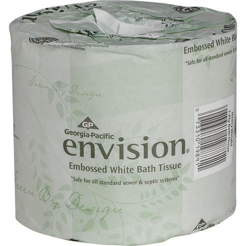 Get Envision 1 Ply Toilet Tissue, 550/roll, 40 rolls/case at Harmony Lab & Safety Supplies.