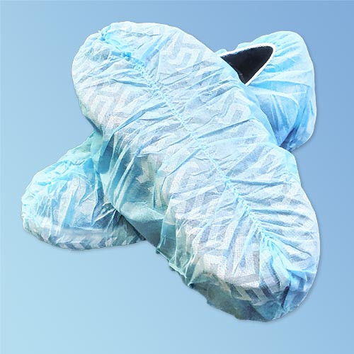 Get Skid Free Sole Disposable Shoe Covers, Blue or White, 150/pair HSC-SF at Harmony