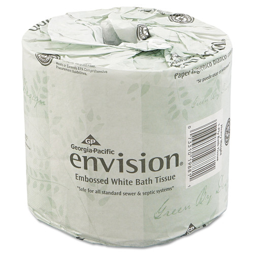 Get GP Envision 2 Ply Toilet Tissue, 550/roll, 80/case L19880 at Harmony