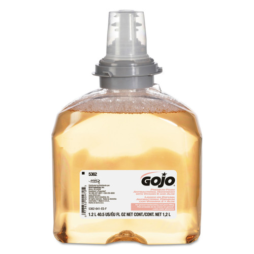 Get GOJO Antibacterial Handwash Refill for TFX, 1200 ml, 2/cs L5362-02 at Harmony