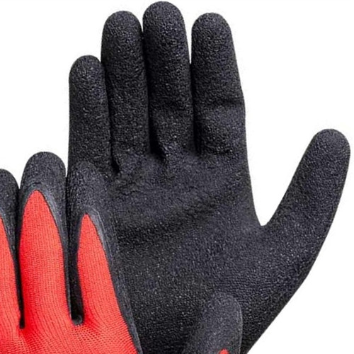 A-Grip Textured Latex Coated Nylon/Poly Gloves