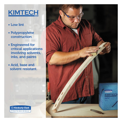 Kimtech Prep KimTex Wipers, 12.5 x 12 in. | Harmony Lab and Safety Supplies