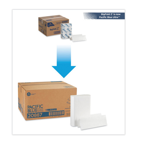 Get Georgia Pacific Blue Ultra Towels, 2200/case LGPC 208-87 at Harmony