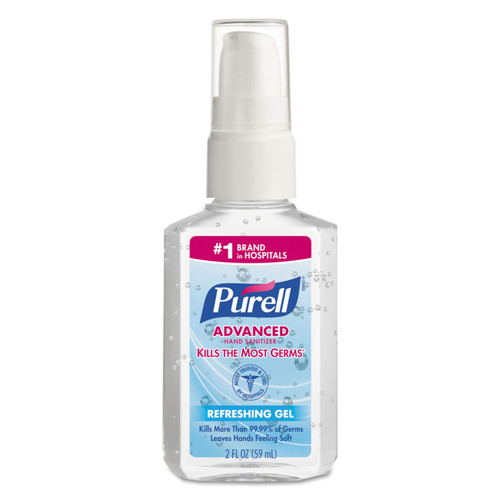 Get Purell Instant Hand Sanitizer, 2 oz, Pump Bottle, 24/cs XGOJ960624 at Harmony