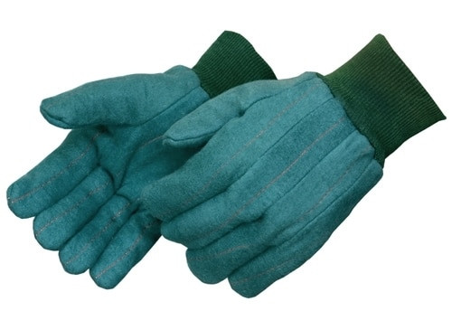 Get Green Chore  Glove,  2 Layer Quilted Palm/Back, Heavyweight, LG, 12/pr LIB4206 at Harmony