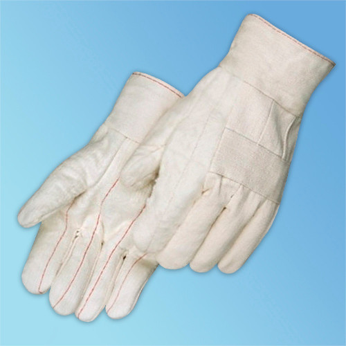 Get White Cotton Canvas Hot Mill Gloves at Harmony