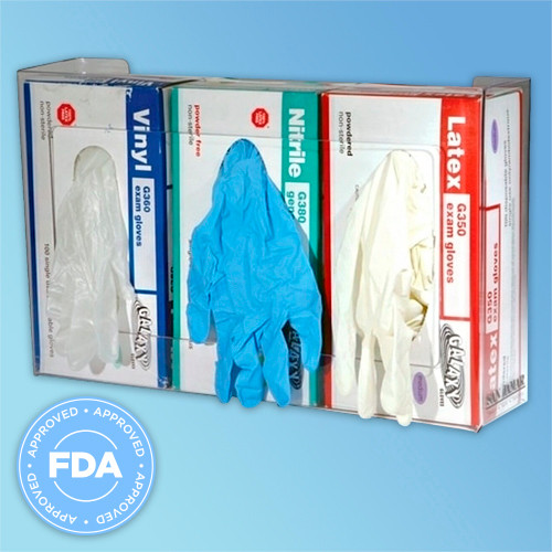 FDA Approved Triple Glove Box Dispenser at Harmony