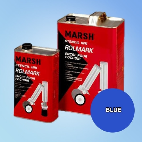 Get Marsh Rolmark Blue Ink X20908-BLUE at Harmony