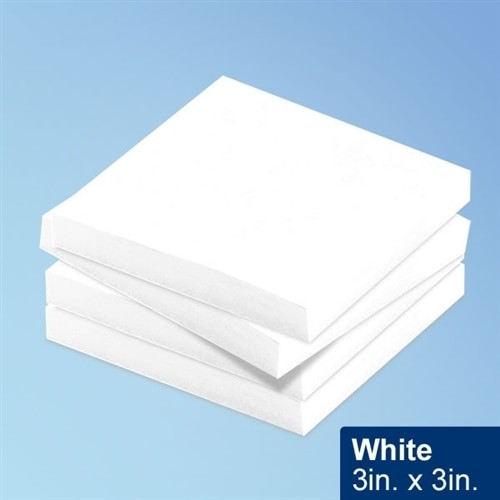"Get White Cleanroom Sticky Notes, 3"" x 3"" , 100/Pad, 10 Pads/pack TNOTE33-WH at Harmony"