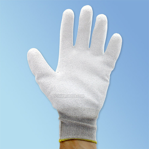 Get Static Dissipative Ultra-Thin Polyurethane Coated Glove, White/White, 1/pair SS13PUCF at Harmony