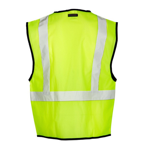 Get ML Kishigo 1519 Class 2 Mesh Safety Vest, Lime Green, at Harmony.
