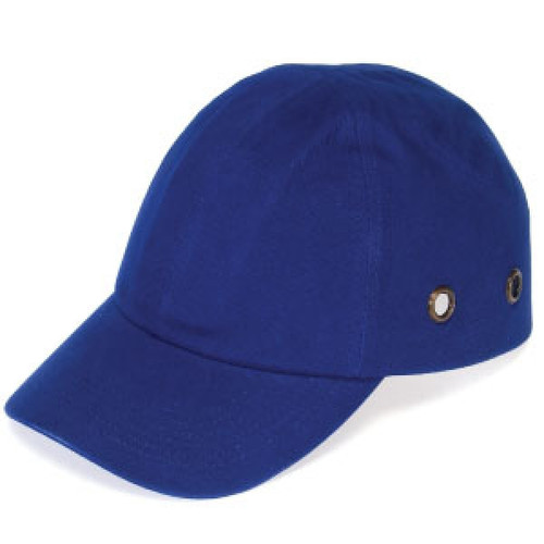 Get Durashell Baseball Bump Caps, 4 Point Standard Suspension, Blue, LB1410BL at Harmony