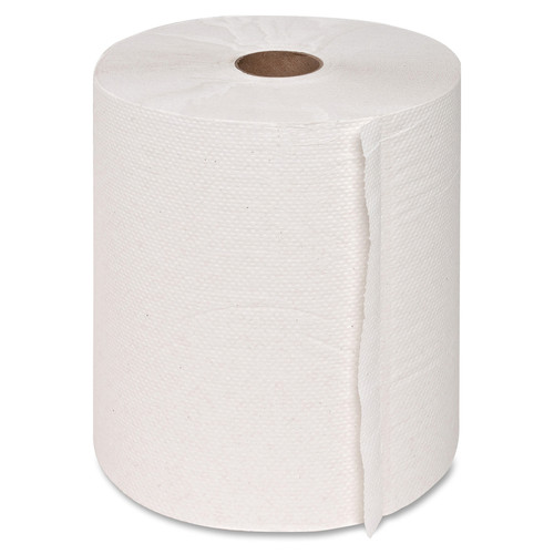 Get Genuine Joe Hardwound Roll Paper Towels, 800ft, White, 6/case at Harmony Lab & Safety Supplies.