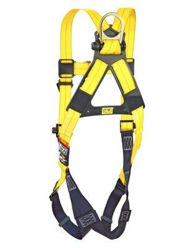 DBI-SALA Delta No-Tangle Full-Body Vest-Style Harness, Pass-Thru Leg Buckles, Universal, each   Harmony Lab and Safety Supplies