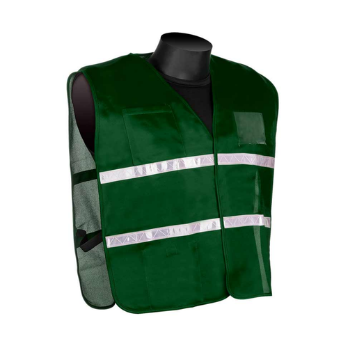 Get HiVizGard Green Incident Command Safety Vests (1620GN) at Harmony