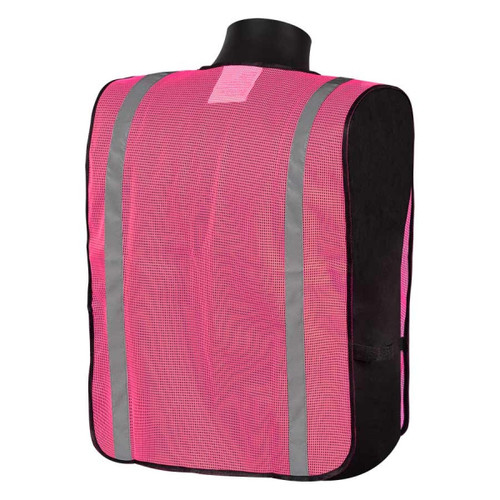 Get Fluorescent Pink General Purpose Safety Vest, Velcro Front Closure, each (LIBN16001P) at Harmony