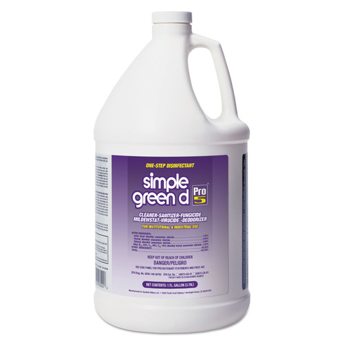 Get Simple Green d Pro 5 Disinfectant, 1 gallon, LSMP30501 at Harmony