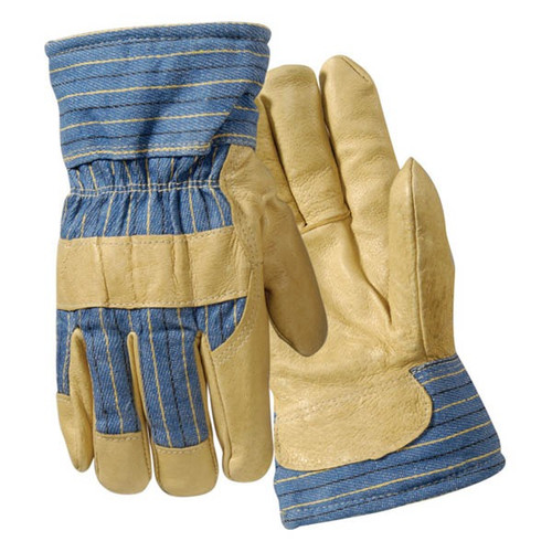 Get Wells Lamont Leather Palm Glove, Thermofill Lined, 6/pairs (Y0042L) at Harmony