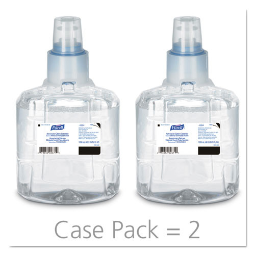 Get Purell Advanced Hand Sanitizer Foam Refill, 1200 mL, 2/case (1904-02) at Harmony