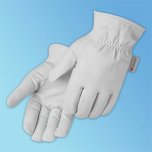 Get Goatskin Drivers Glove, Keystone Thumb, 3M Thinsulate-Lined, 12/pair (LIB6857) at Harmony