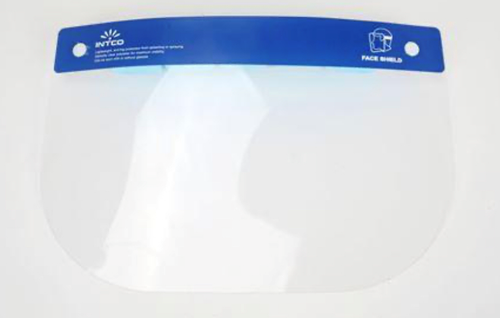 Get Full Face Shield Visors, 8/box, INFS220, at Harmony (front view)