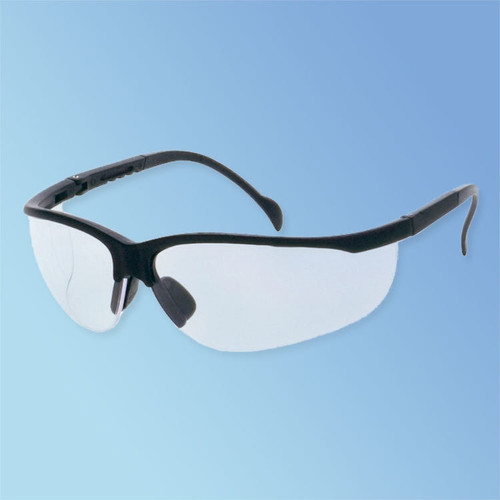 Get iNOX Magnum Safety Glasses, Clear Lens, Black Frame, ea LB1717C at Harmony