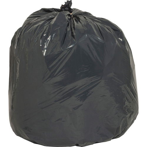 Black Low Density Trash Can Liners, 24 x 33 in., 16 gal, .85 mil, 500/case (NAT00988)   Harmony Lab and Safety Supplies