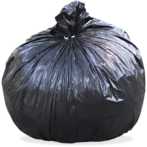 Black Low Density Trash Can Liners, 24 x 24 in., 6-10 gal, 1 mil, 250/case (STOT2424B10)  | Harmony Lab and Safety Supplies