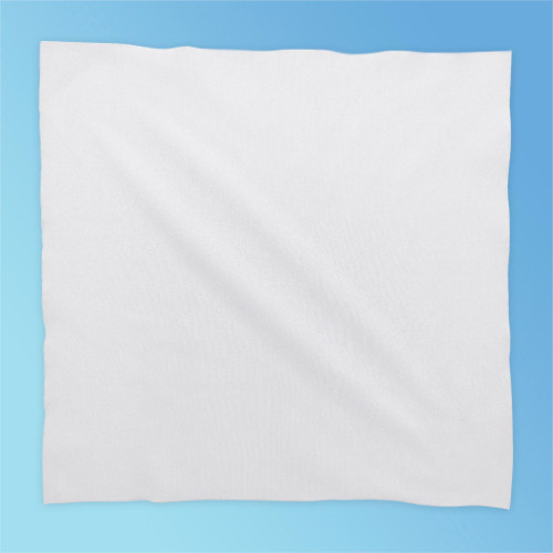 Teknipure TekniClean TC2PL1-99 Laser Sealed Edge Polyester Knit Cleanroom Wipe, 9 x 9 in., 150/bag, 10 bags/case | Harmony Lab and Safety Supplies