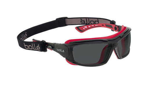 Bolle Safety Ultim8 40300 Smoke Lens Safety Goggles can be converted into Spectacles| Harmony Lab and Safety Supplies