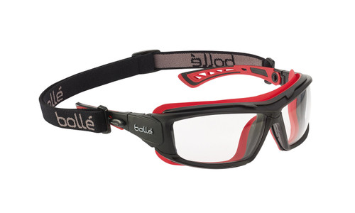 Bolle Ultim8 Convertible Safety Goggles, Clear and Smoke Lens Options | Harmony Lab and Safety Supplies