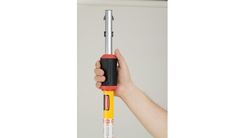 """Hygen™ Quick Connect Handle, 48""""-96"""", Yellow (FGQ76500YL00)  Harmony Lab and Safety Supplies"""