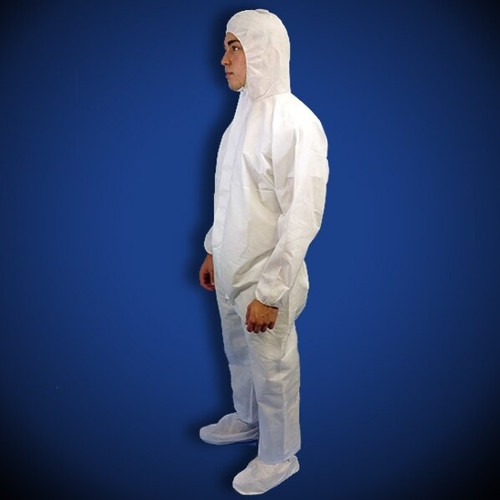 Get ProGard White SMS Coveralls with Hood & Boot, 25/cs T190-SMS-WH at Harmony